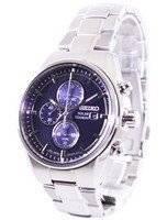 Relógio Seiko Solar Titanium Chronograph SSC365 SSC365P1 SSC365P dos homens