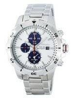 Seiko Solar Chronograph Alarm SSC553 SSC553P1 SSC553P Men's Watch