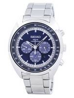 Seiko Solar Chronograph Tachymeter SSC619 SSC619P1 SSC619P Men's Watch