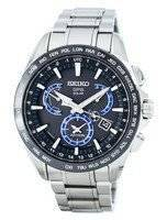 Seiko Astron GPS Solar Dual Time Japan Made SSE107 SSE107J1 SSE107J Men's Watch