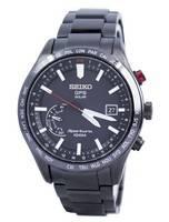 Seiko Sportura GPS Solar World Time Japan Made SSF005 SSF005J1 SSF005J Men's Watch
