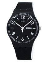 Swatch Originals Backup Black Quartz SUOB715 Unisex Watch
