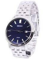 Seiko Quartz Blue Dial SUR107P1 SUR107P Men's Watch