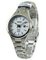 Seiko Solar Titanium 100M SUT199 SUT199P1 SUT199P Women's Watch
