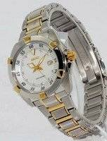 Seiko Velatura Ladies Diamond Twotone SXDA68P1 with 10 Diamonds