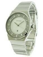 Seiko Quartz Crystal Set Dial SXDF71P1 SXDF71P Women's Watch