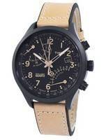 Relógio Timex Indiglo inteligente Fly Back Cronógrafo Quartz T2N700 masculino