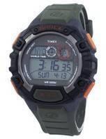 Relógio Timex expedição choque mundial tempo Indiglo Digital T49972 masculino