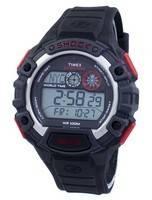 Relógio Timex expedição Global choque mundial hora alarme Indiglo Digital T49973 masculino