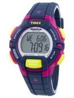 Timex relógio Ironman Triathlon robusto 30 Lap Indiglo Digital T5K813 feminino de esportivo