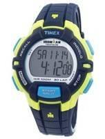 Timex relógio Ironman Triathlon robusto 30 Lap Indiglo Digital T5K814 masculino de esportivo