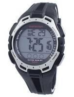 Timex relógio de maratona cronógrafo Dual Time Indiglo TW5K94600 masculino esportivo