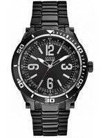 Guess Black Stainless Steel Quartz U0043G2 Men's Watch