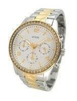 Guess Chronograph Two Tone Yellow Gold U0122L2 Women's Watch