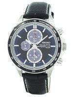 Refurbished Seiko Solar Chronograph Alarm SSC437 SSC437P1 SSC437P Men's Watch