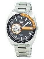 Refurbished Seiko 5 Sports Automatic 24 Jewels Open Heart Dial Japan Made SSA331 SSA331J1 SSA331J Men's Watch