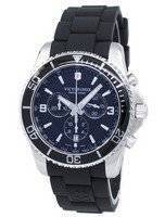 Relógio Victorinox Maverick exército suíço cronógrafo taquímetro quartzo 241696 masculino