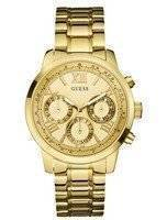 Guess Sunrise Multifunction Gold Tone Quartz W0330L1 Women's Watch
