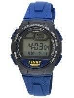 Casio Digital Lap Memory Illuminator W-734-2AVDF W-734-2AV Men's Watch