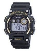 Casio Super Illuminator Vibration Alarm Digital W-735H-1A2V W735H-1A2V Men's Watch
