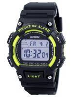 Casio Super Illuminator Vibration Alarm Dual Time Digital W-736H-3AV W736H-3AV Men's Watch