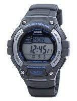 Casio Illuminator Tough Solar Lap Memory Alarm Digital W-S220-8AV WS220-8AV Men's Watch