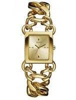 Guess Gold Tone Stainless Steel Quartz W0438L2 Women's Watch