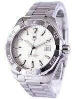 Tag Heuer Aquaracer Silver Dial 300M WAY1111.BA0910 Men's Watch
