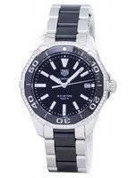 TAG Heuer Aquaracer Quartz 300M diamante sotaque WAY131G. BA0913 Relógio feminino