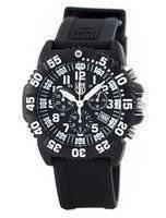 ルミノックス海海軍シール カラーマーク クロノグラフ 3080 シリーズ スイス製クォーツ 200 M XS.3081 メンズ腕時計