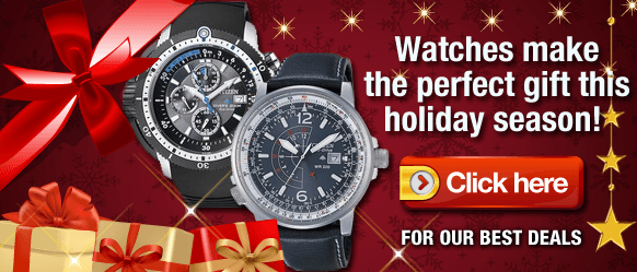 Holidays Sale on Watches. 10% additional discount. Up to 80% off on Men's and Women's watches!
