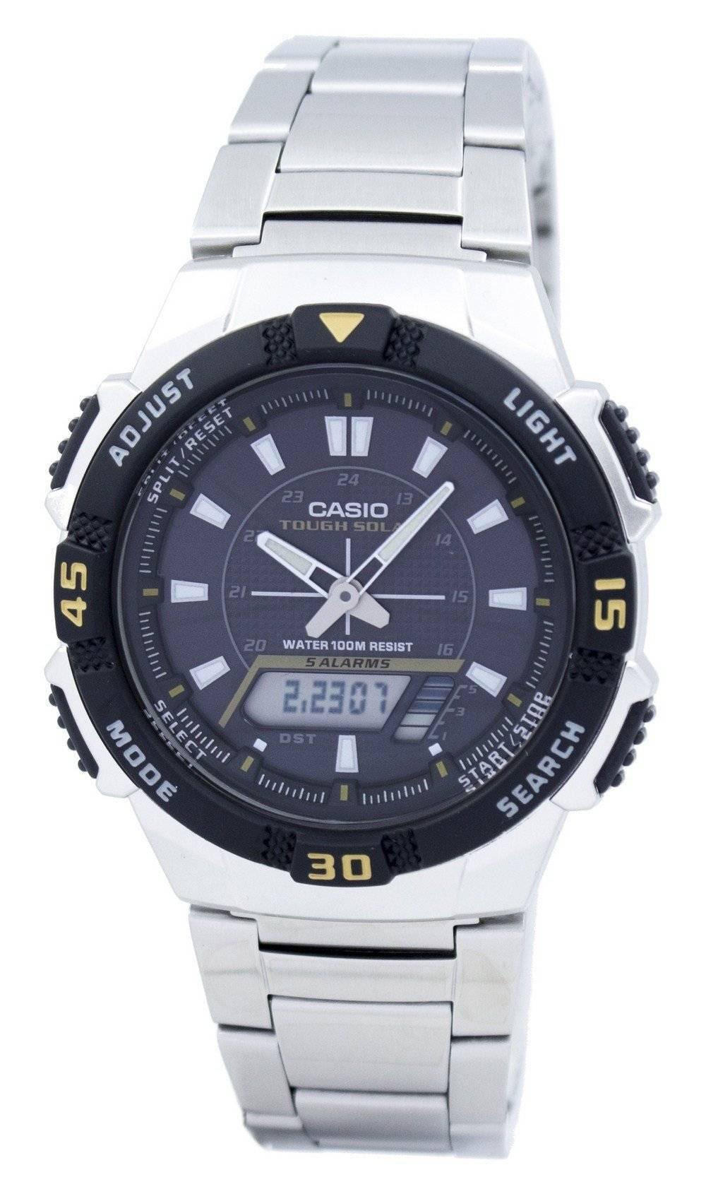 b998e0bd3c96 Reloj de hombre Casio analógico digital resistente solar AQ-S800WD-1EVDF AQ -S800WD-1EV