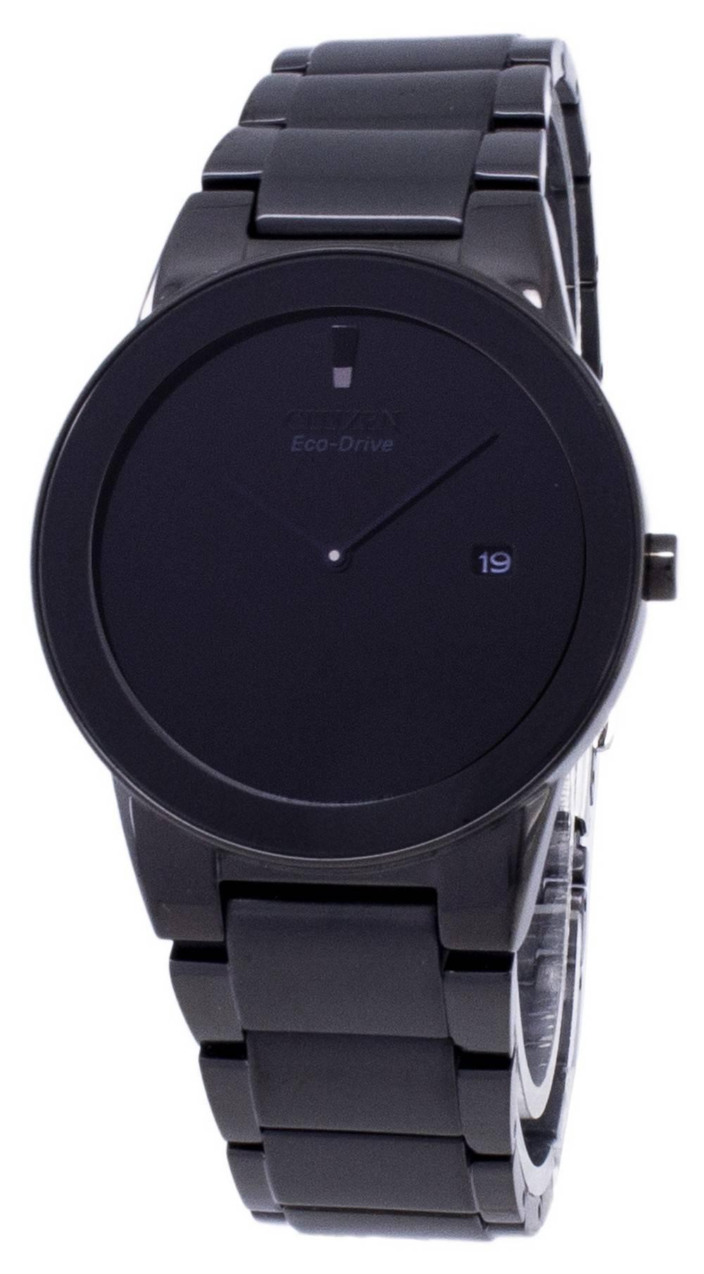 963ba31d077 Detalles acerca de Citizen axioma Eco-drive AU1065-58E Reloj para hombres  analógico- mostrar título original