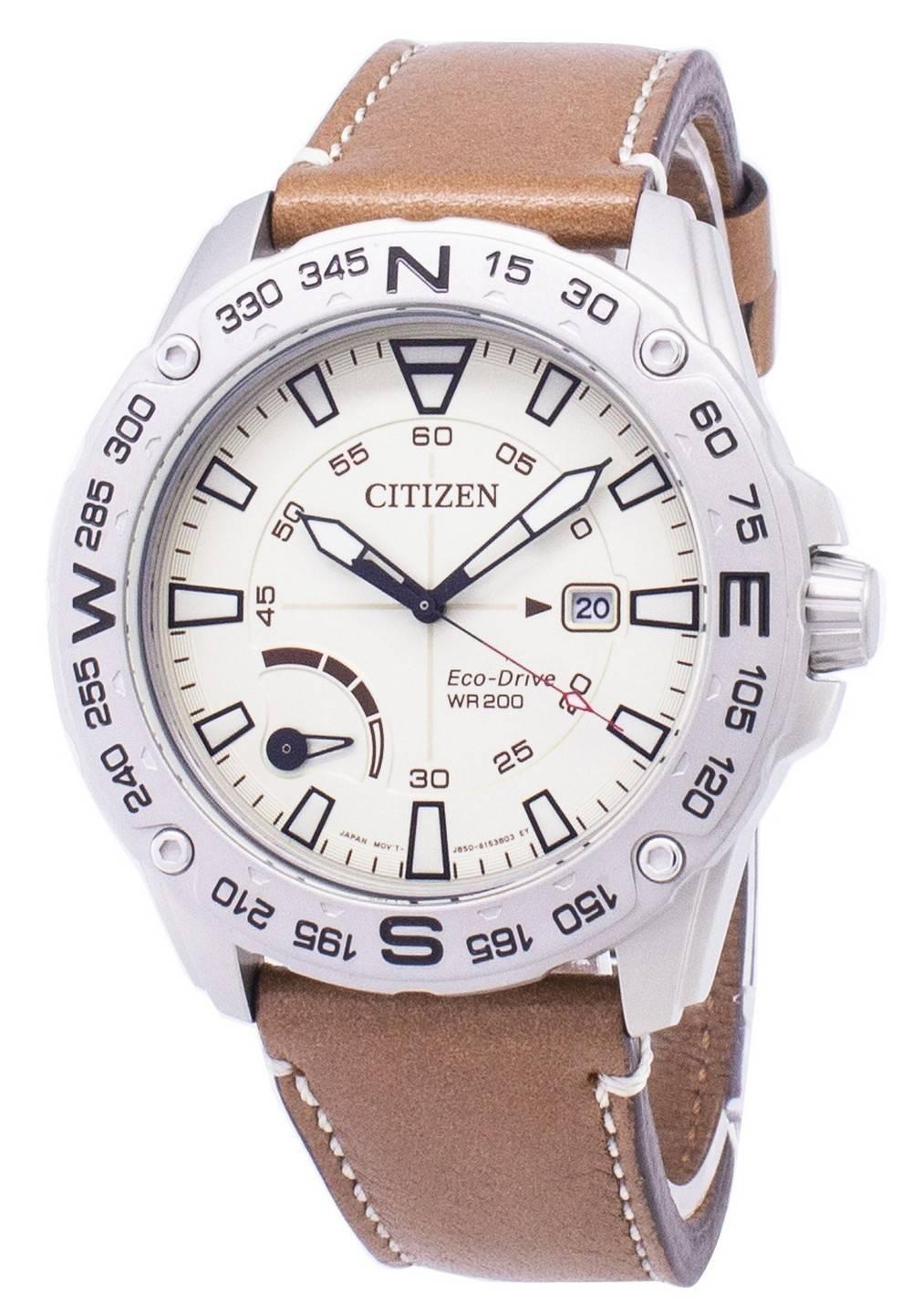 aca2e72f2c4 Detalles acerca de Citizen Eco-drive AW7040-02A Power Reserve Reloj para  hombres 200M- mostrar título original