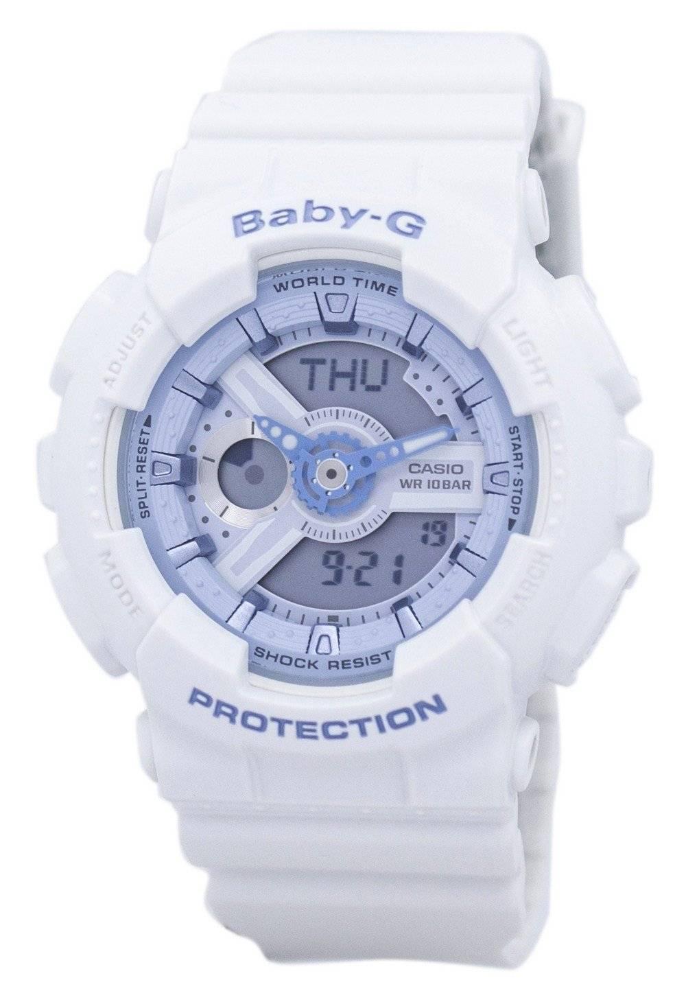 32160e60eb10 Reloj digital para mujer Casio Baby-G BA-110BE-7A BA110BE-7A Resistente a  los golpes.