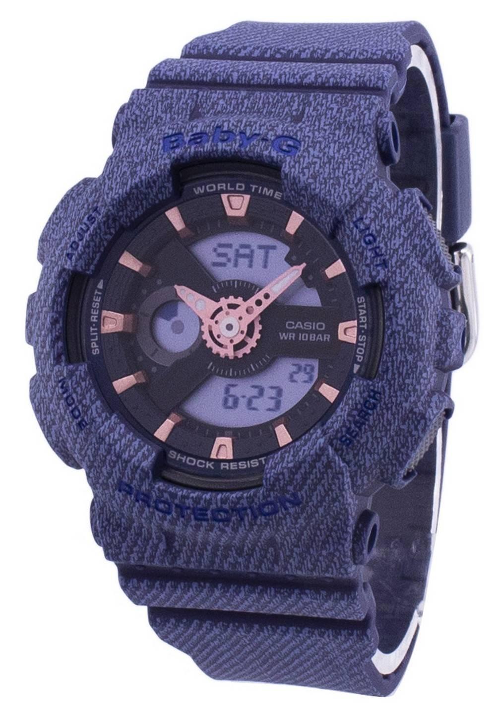 Detalles acerca de Casio G-Shock Baby-g Analógico Digital Reloj de mujer BA-110DE-2A1  BA110DE2A1- mostrar título original 6902dfa4bc55