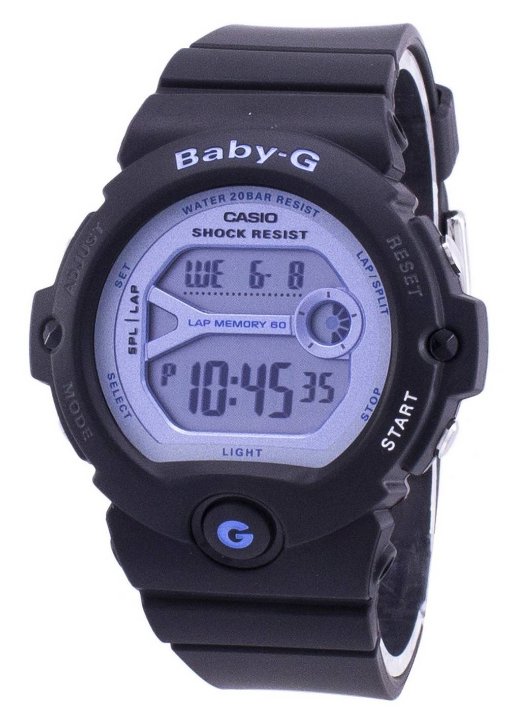 5a8713a05 Casio Running Baby-G Reloj digital para mujer BG-6903-1 BG6903-1 resistente  a los golpes