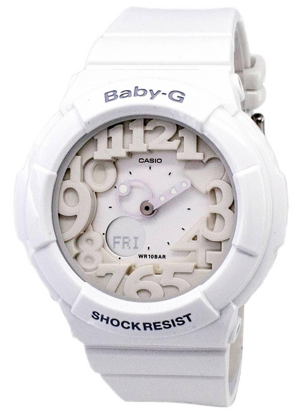 8ffe1c458960 Casio Baby-G Analog Digital Neon Illuminator BGA-131-7B Women's Watch