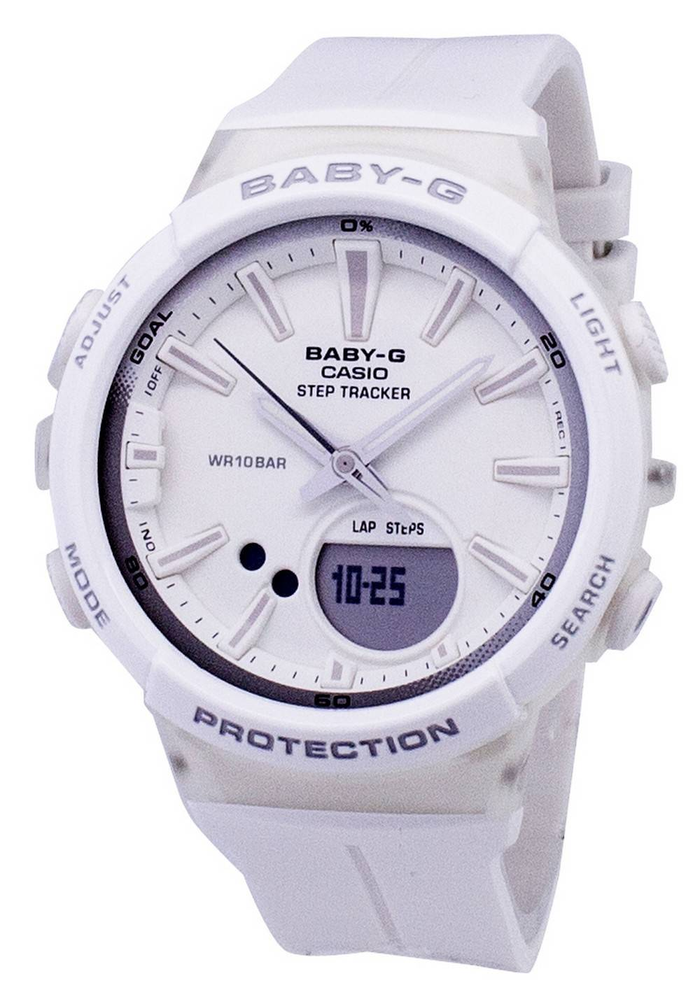 dee7f5dabec Details about Casio Baby-G Step Tracker Analog Digital BGS-100-7A1  BGS100-7A1 Womens Watch
