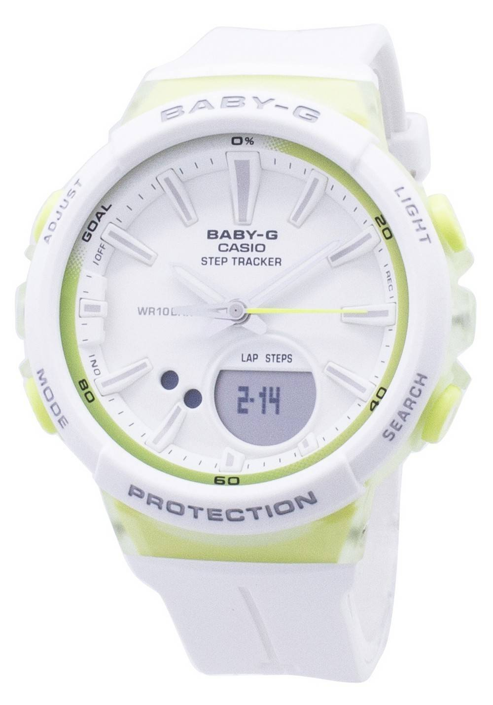 8616c742f6d Details about Casio Baby-G BGS-100-7A2 BGS100-7A2 Step Tracker Analog  Digital Womens Watch