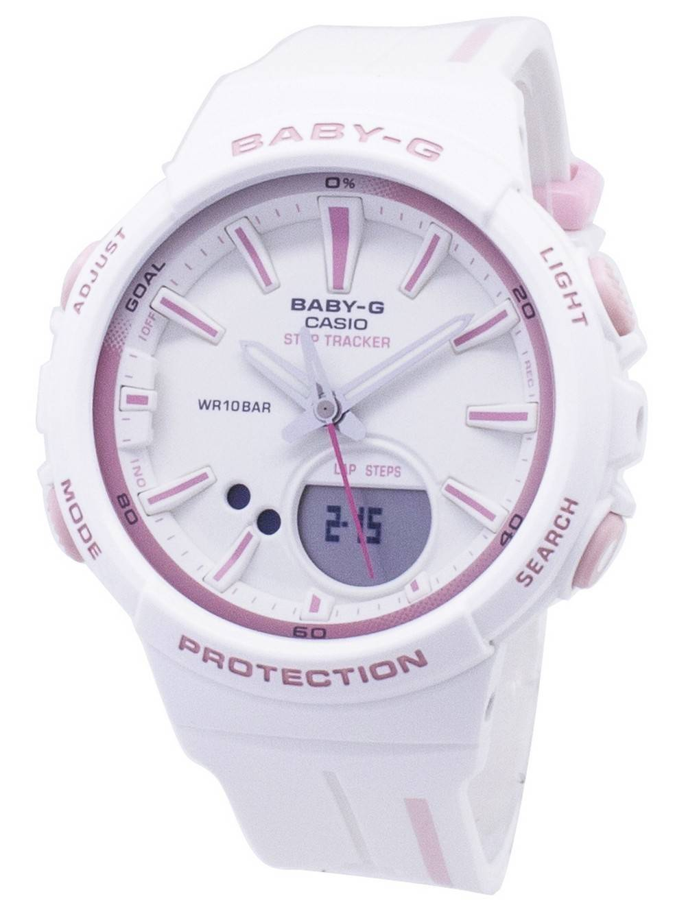 9cd6be0d3bc Casio Baby-G BGS-100RT-7A BGS100RT-7A Step Tracker Analog Digital Women s  Watch