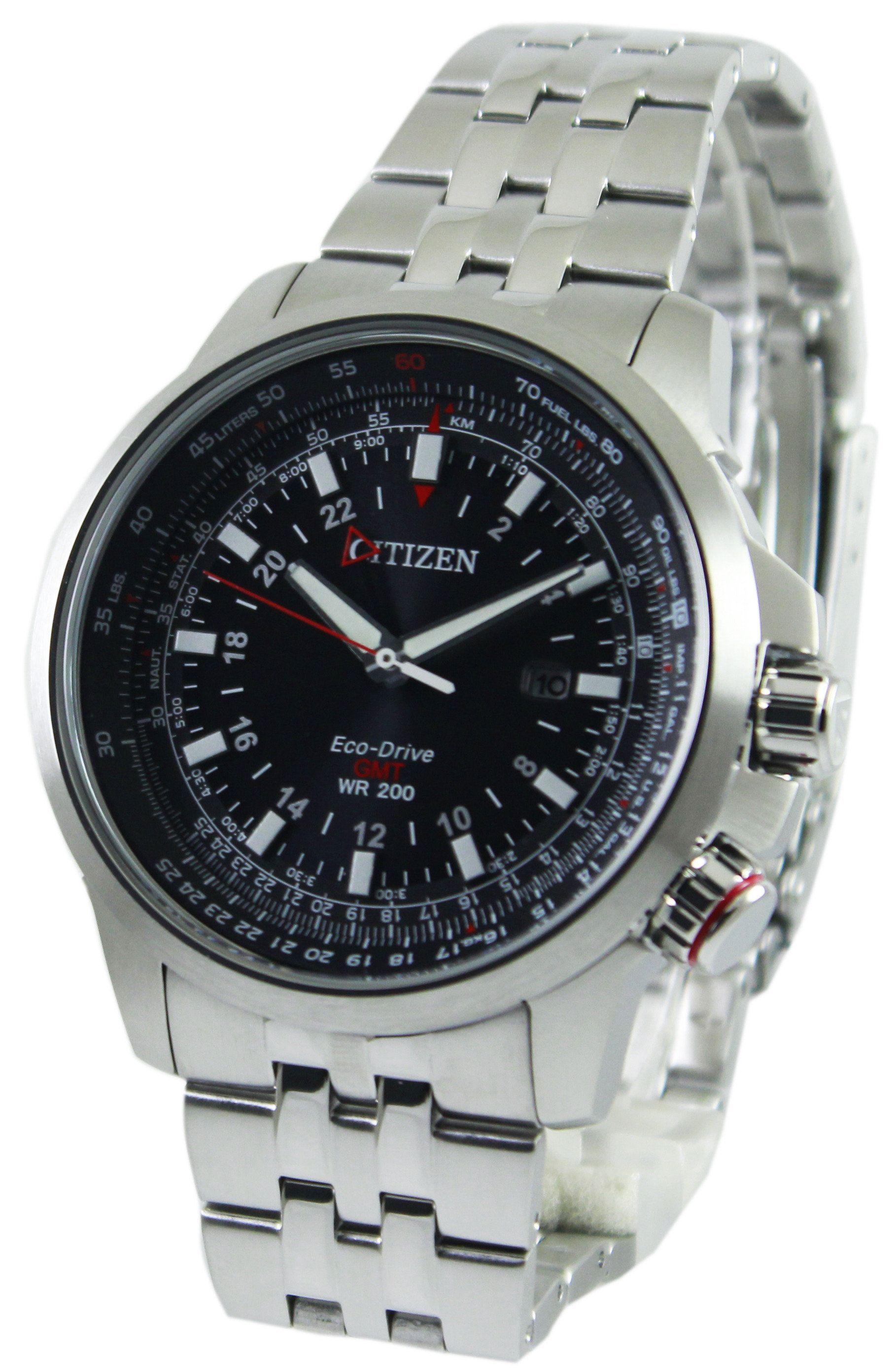 ce5297c5cd0d Citizen Promaster Pilot Eco-Drive GMT 200M BJ7070-57E Men s Watch