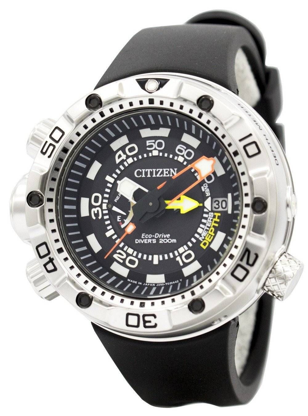 61418870cff CITIZEN PROMASTER AQUALAND Eco-Drive Divers BN2021-03E Mens Watch - EUR  415