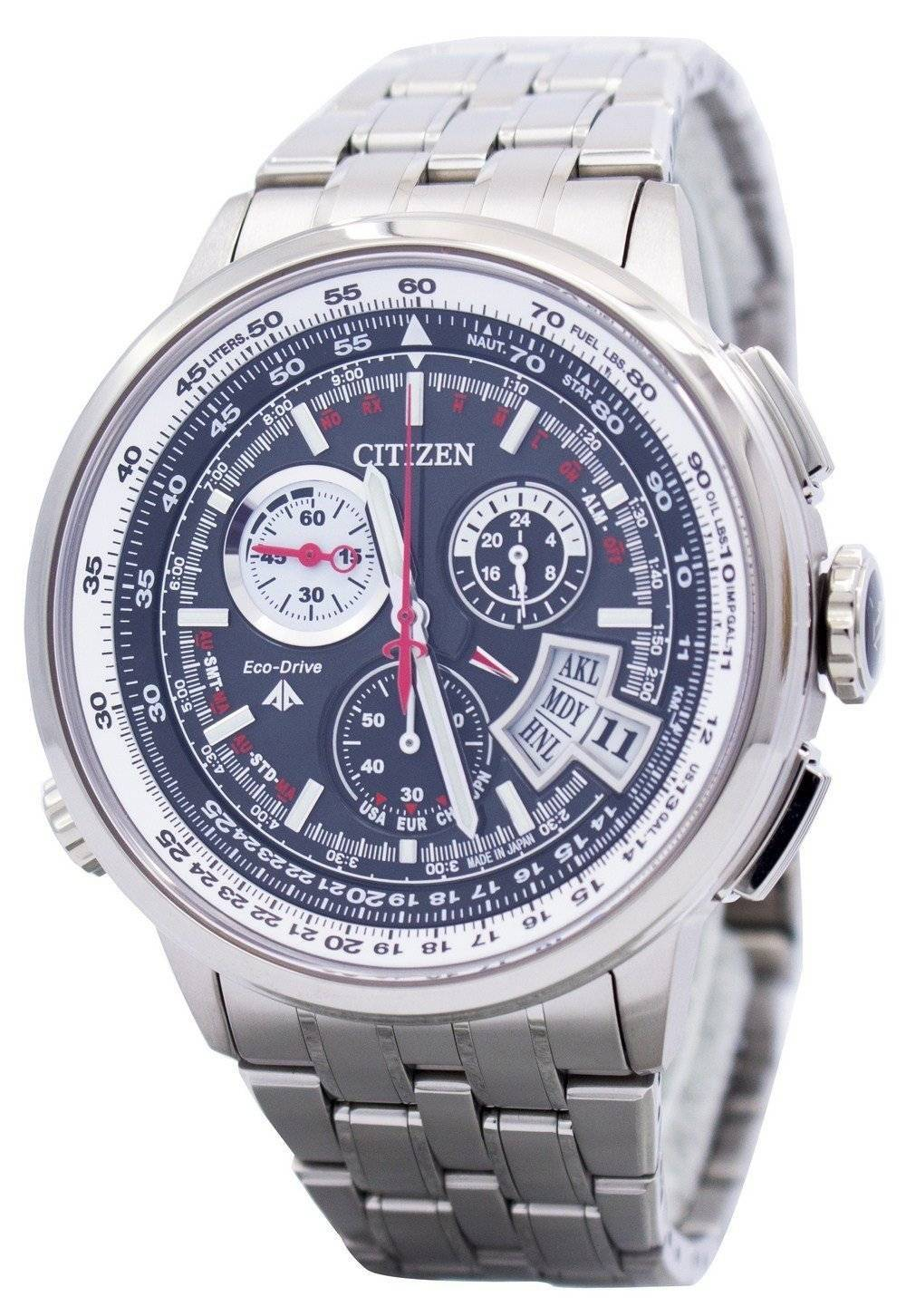 Details about Citizen Titanium Promaster Radio Controlled BY0010-52E BY0010  World Time 2677151e8b3