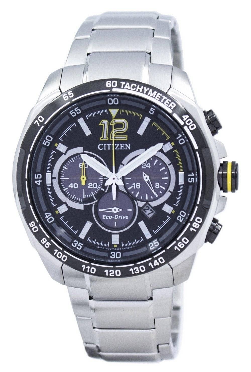 65490b43d61 Detalles acerca de Citizen Eco-drive Reloj Hombre Cronógrafo Taquímetro  CA4234-51E- mostrar título original