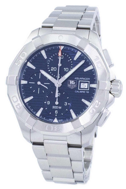 3f63cc4abea Detalhes sobre Tag Heuer Aquaracer Chronograph Automatic 300M  CAY2112.BA0927 Mens Watch