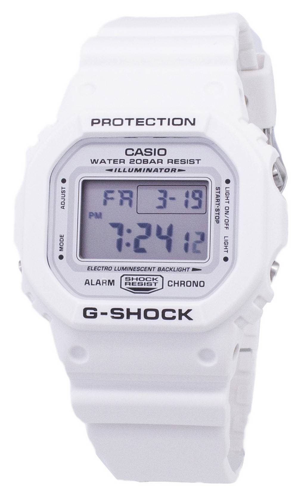 b4fbdf3a7a32e8 Orologio Casio G-Shock DW-5600MW-7 DW5600MW-7 quarzo digitale 200M-maschile  it