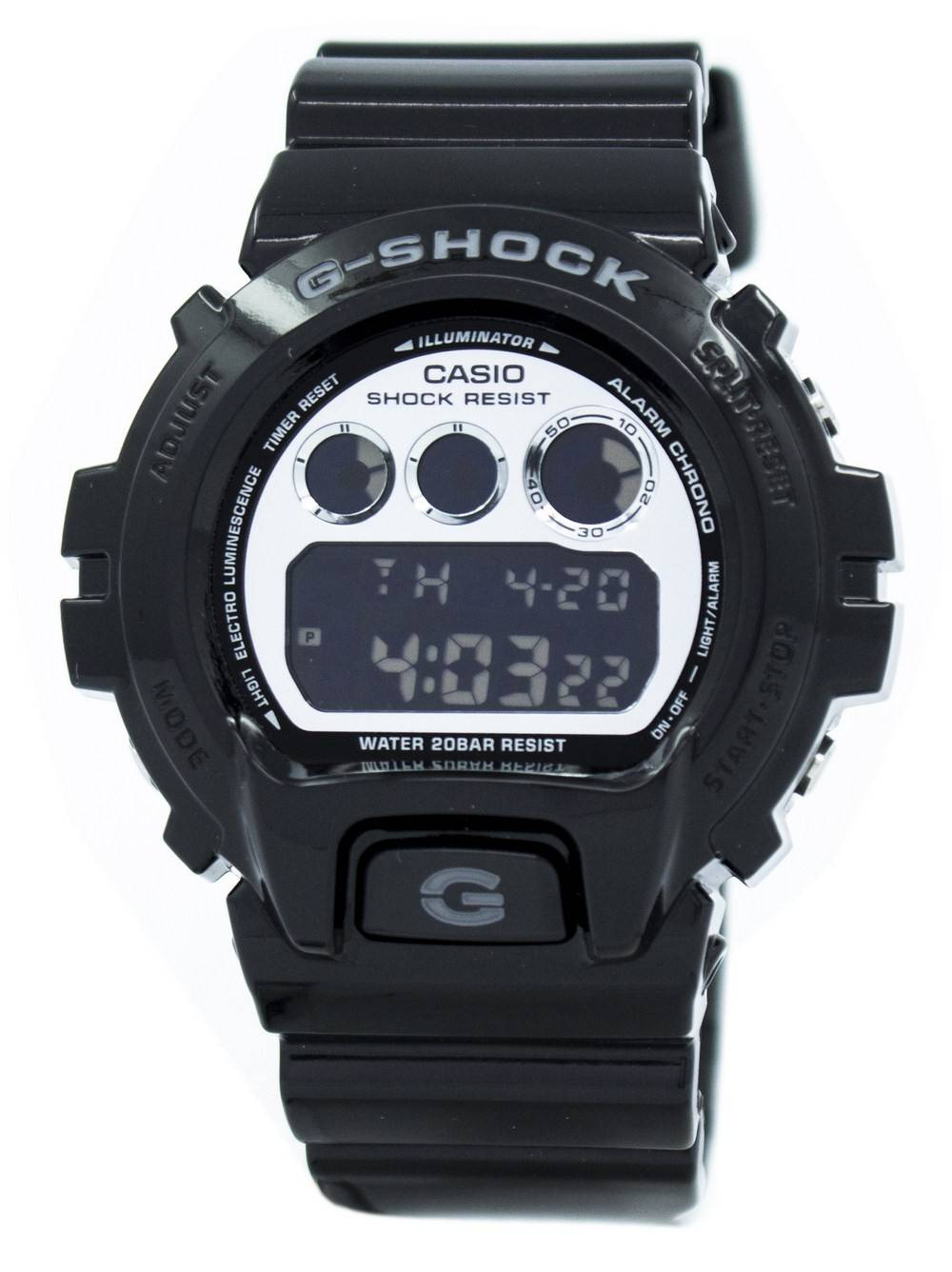 Detalles de Reloj para hombre Casio G Shock DW 6900NB 1DR DW 6900NB 1 DW6900NB 1
