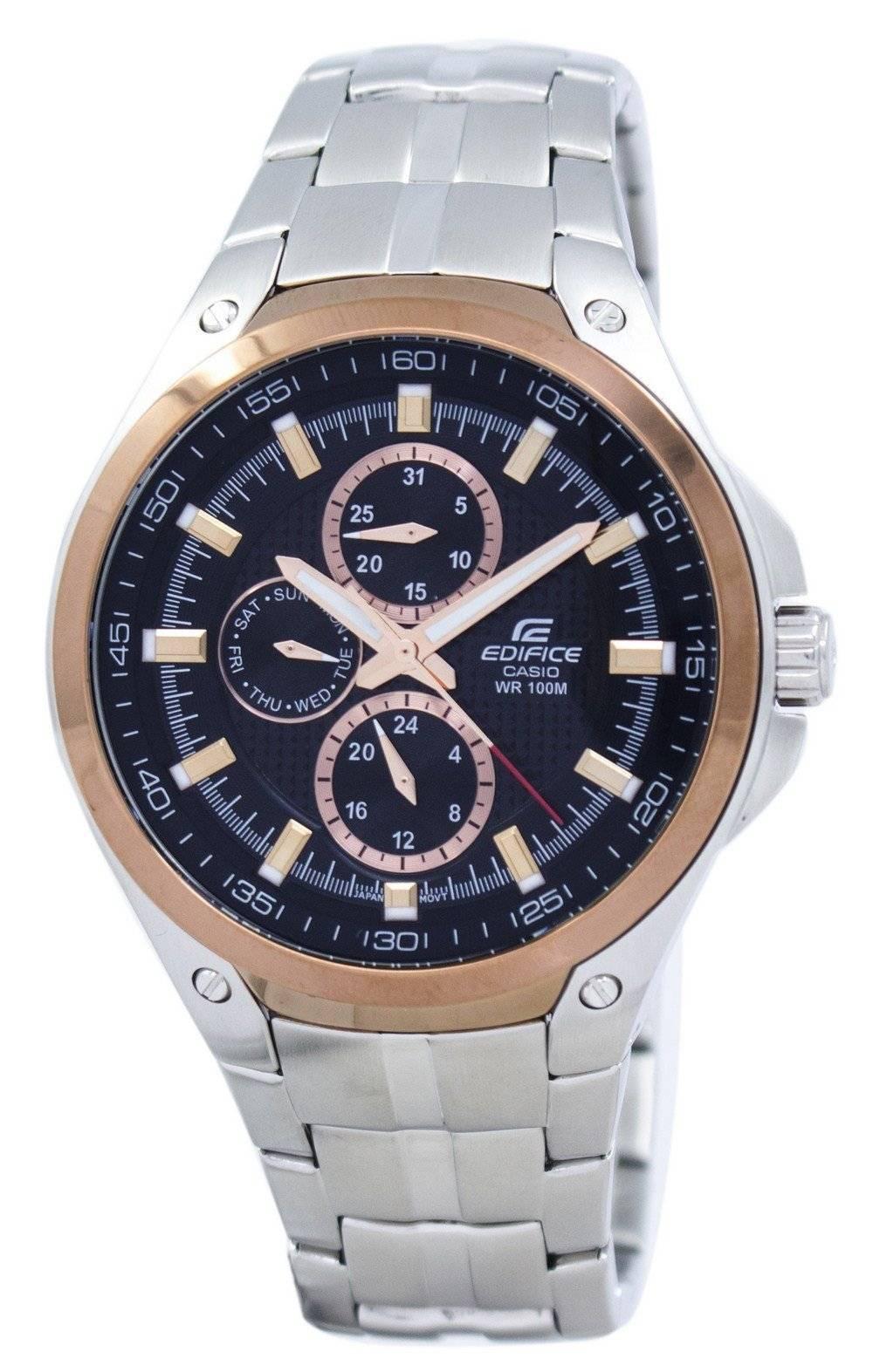 9c333487cf0b Details about Casio Edifice EF-326D-1AVDF EF-326D-1AV EF-326D-1 Men s Watch