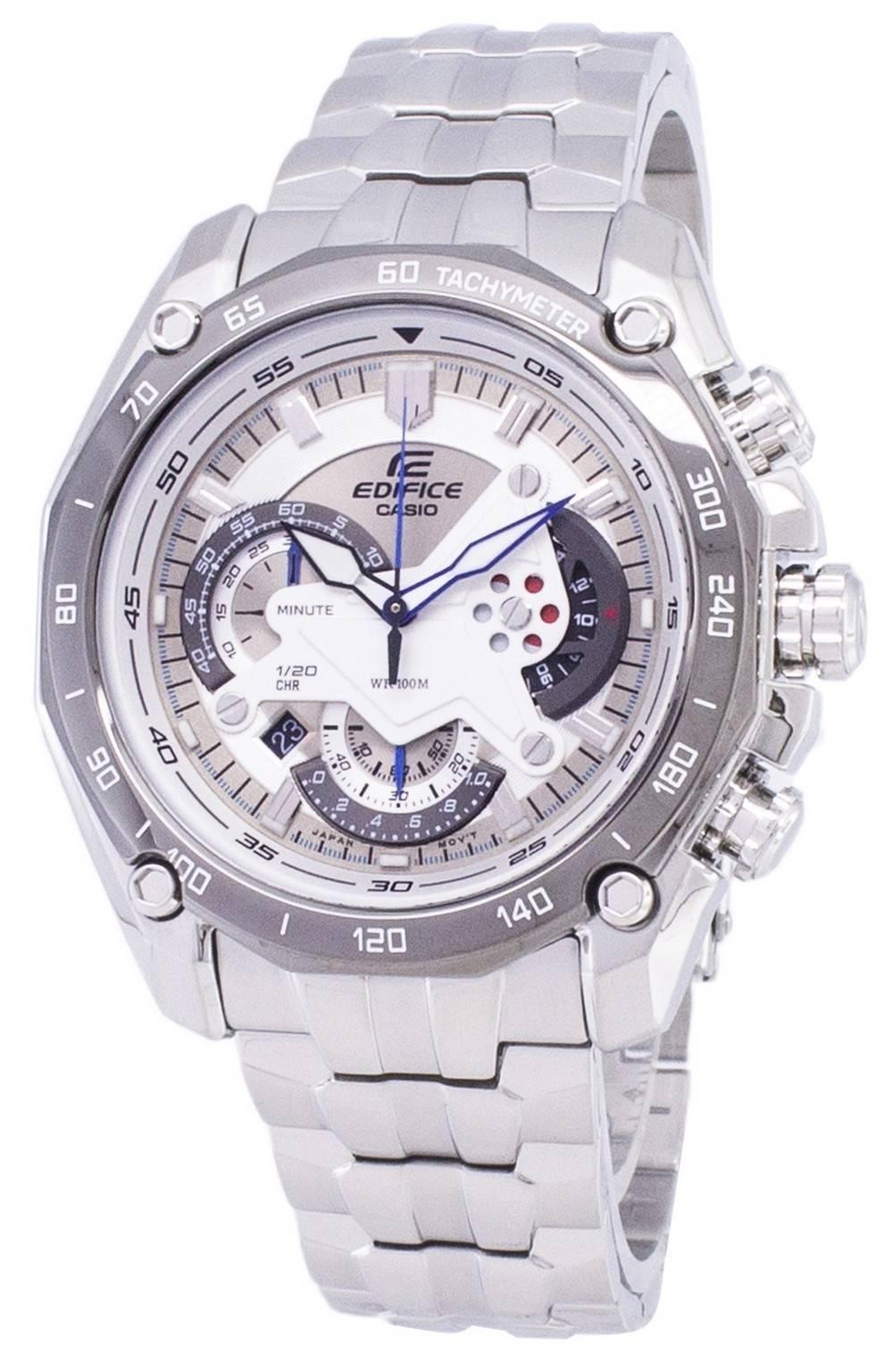 484d464f56cf Reloj Casio Edifice Cronógrafo Taquimétrico Cuarzo EF-550D-7AV EF550D-7AV  para hombre